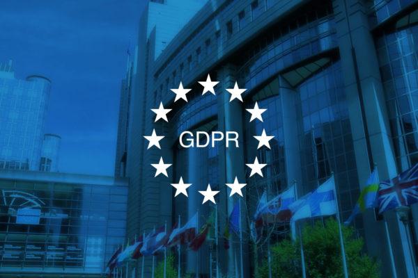 GDPR EU Stars governmental building