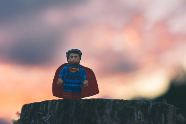 superman lego figure