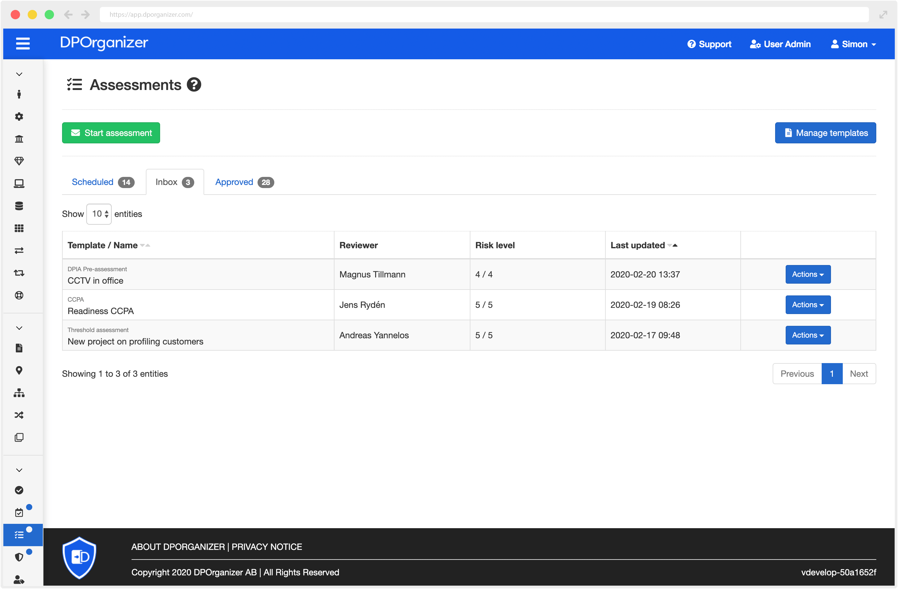 Launching Assessments, our custom form builder