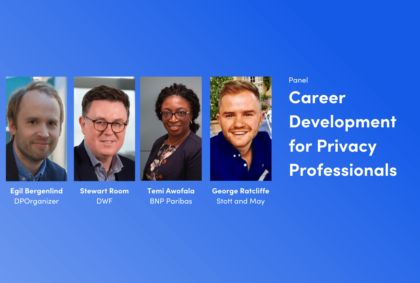 Career Development for Privacy Professionals