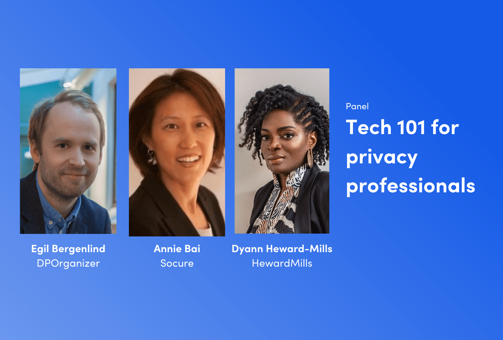 Tech 101 for privacy professionals